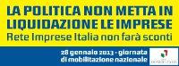 """Featured image for """"Giornata di Mobilitazione di Rete Imprese Italia. Dal fisco al lavoro, ecco l'agenda per la politica"""""""
