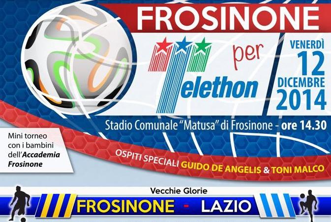 """Featured image for """"Telethon. Partita tra vecchie glorie di Frosinone e Lazio. La CNA offre 50 biglietti agli associati"""""""