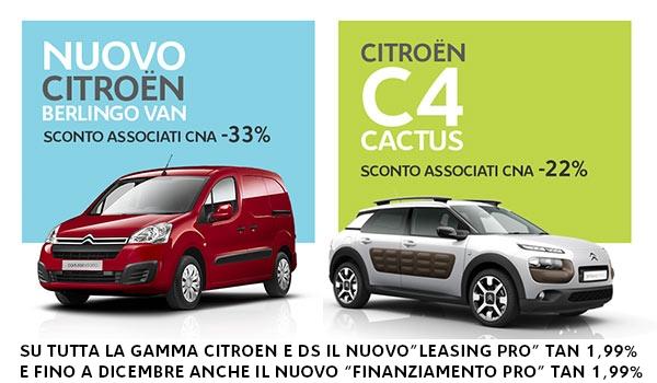 "Featured image for ""ServiziPiù. Citroen, operazione Porte Aperte – Sconti speciali per gli associati CNA"""