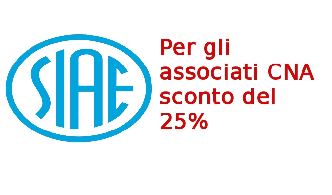 """Featured image for """"Musica d'Ambiente: sconto del 25% per i Soci CNA sulle tariffe SIAE 2016"""""""