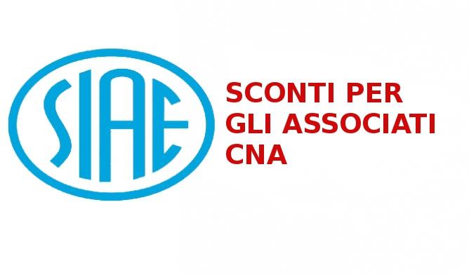 """Featured image for """"Convenzione CNA e Siae: tariffe agevolate per gli associati"""""""