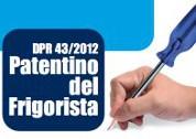 """Featured image for """"Impiantisti. Corso """"Patentino del frigorista"""" – MAGGIO 2016"""""""
