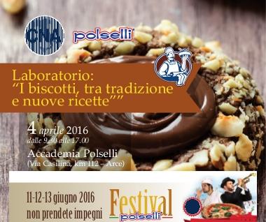 """Featured image for """"Alimentare. Laboratorio: """"I biscotti, tra tradizione e nuove ricette"""""""""""
