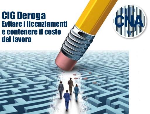 """Featured image for """"CIG DEROGA – Evitare i licenziamenti e contenere il costo del lavoro"""""""