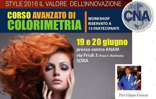 """Featured image for """"Acconciatori. Corso avanzato di colorimetria – 19/20 giugno"""""""