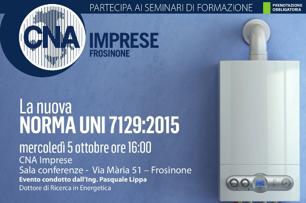 "Featured image for ""Impiantisti. Corso: La ""nuova"" NORMA UNI 7129:2015"""