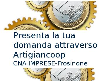 """Featured image for """"Microcredito. Da 5 a 25mila € all'1%. Scadenza prorogata a gennaio. Presenta la domanda attraverso Artigiancoop – CNA Frosinone"""""""