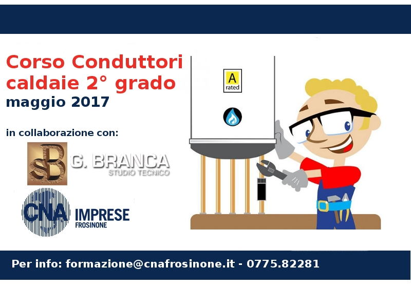 "Featured image for ""Impiantisti. Corso Conduttori caldaie – 2° grado"""