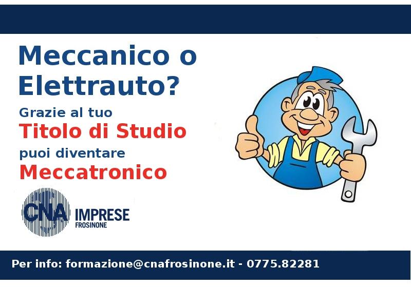 """Featured image for """"Meccatronico. Pubblicati i titoli di studio abilitanti"""""""
