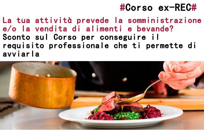 """Featured image for """"Somministrazione e/o vendita alimenti e bevande? Sconto sul Corso per l'avvio dell'attività"""""""