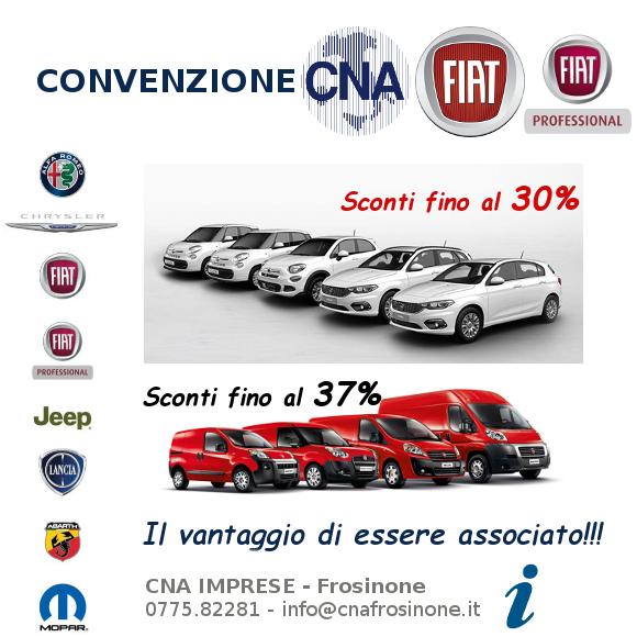 """Featured image for """"Convenzione con FIAT e FIAT Professional. Per gli associati sconti fino al 37%"""""""
