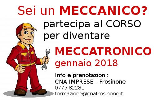 """Featured image for """"Sei un MECCANICO? Partecipa al CORSO per diventare MECCATRONICO – Gennaio 2018"""""""