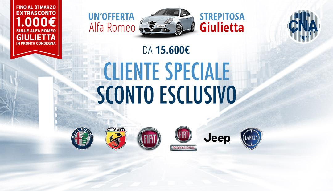 """Featured image for """"ServiziPiù. Alfa Romeo – Giulietta, da 15.600 euro per gli associati CNA"""""""