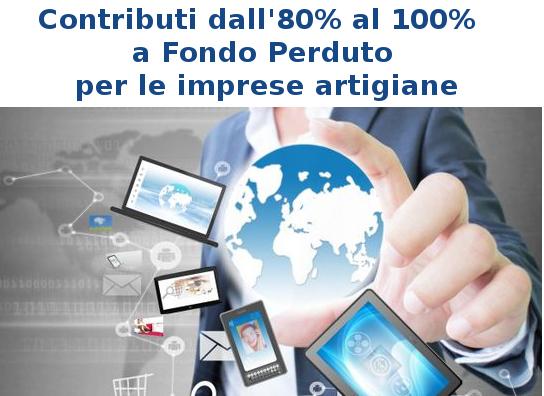 """Featured image for """"Per le Imprese Artigiane,  contributo dall'80% al 100% a FONDO PERDUTO"""""""