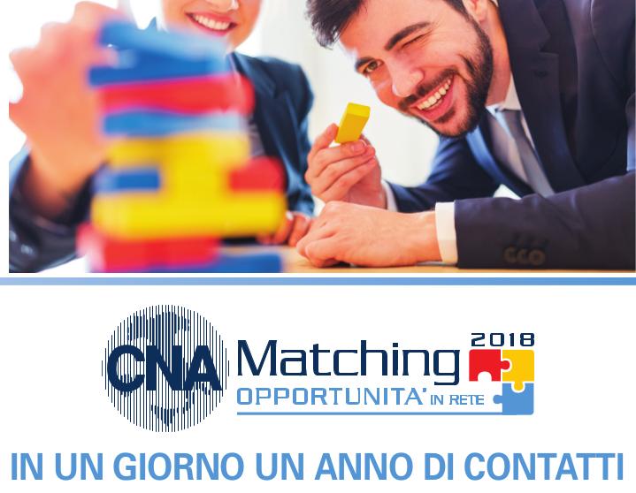 """Featured image for """"Partecipa a """"CNA MATCHING 2018"""": in un giorno i contatti di un anno"""""""