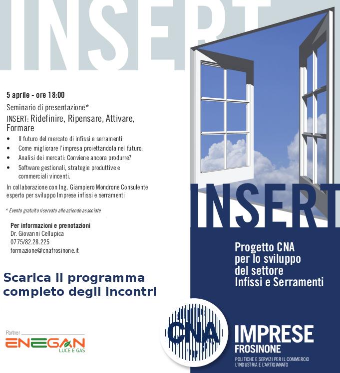 """Featured image for """"INSERT: Progetto CNA per lo sviluppo della tua impresa di Infissi e Serramenti. Il 5 aprile la presentazione"""""""