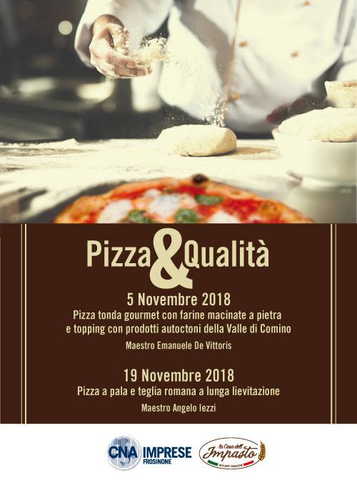 """Featured image for """"Pizza&Qualità due Corsi su Piazza Gourmet e Piazza alla pala e alla teglia"""""""