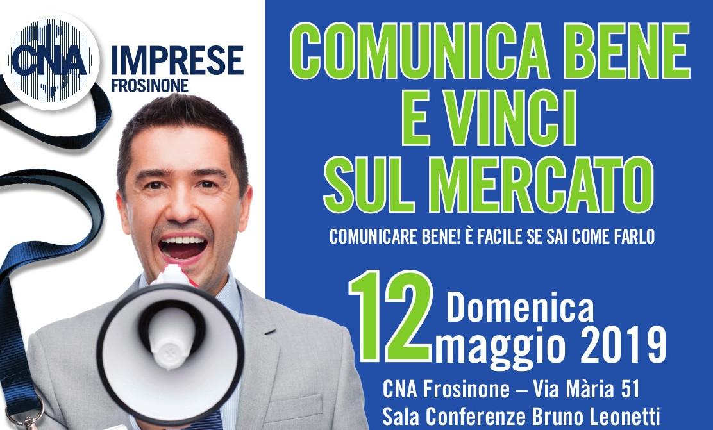 """Featured image for """"Comunica Bene e Vinci sul Mercato – 12 maggio 2019"""""""