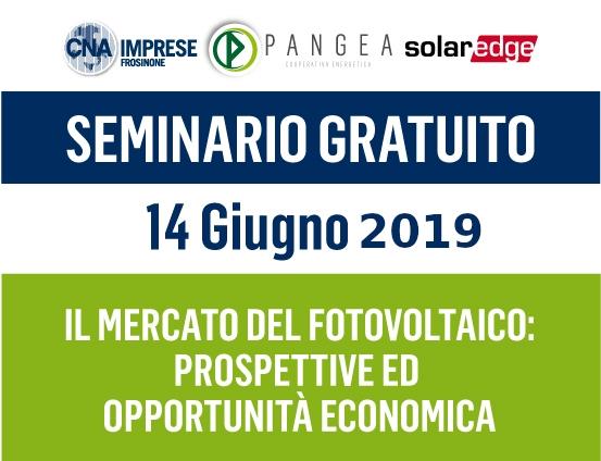 """Featured image for """"Seminario gratuito – Il mercato del fotovoltaico"""""""