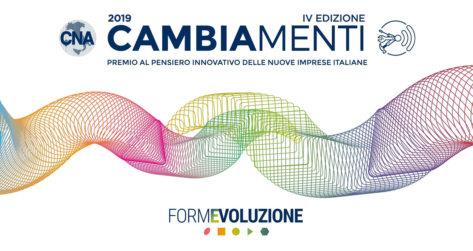 """Featured image for """"CAMBIAMENTI: Premio al pensiero innovativo delle nuove Imprese italiane"""""""