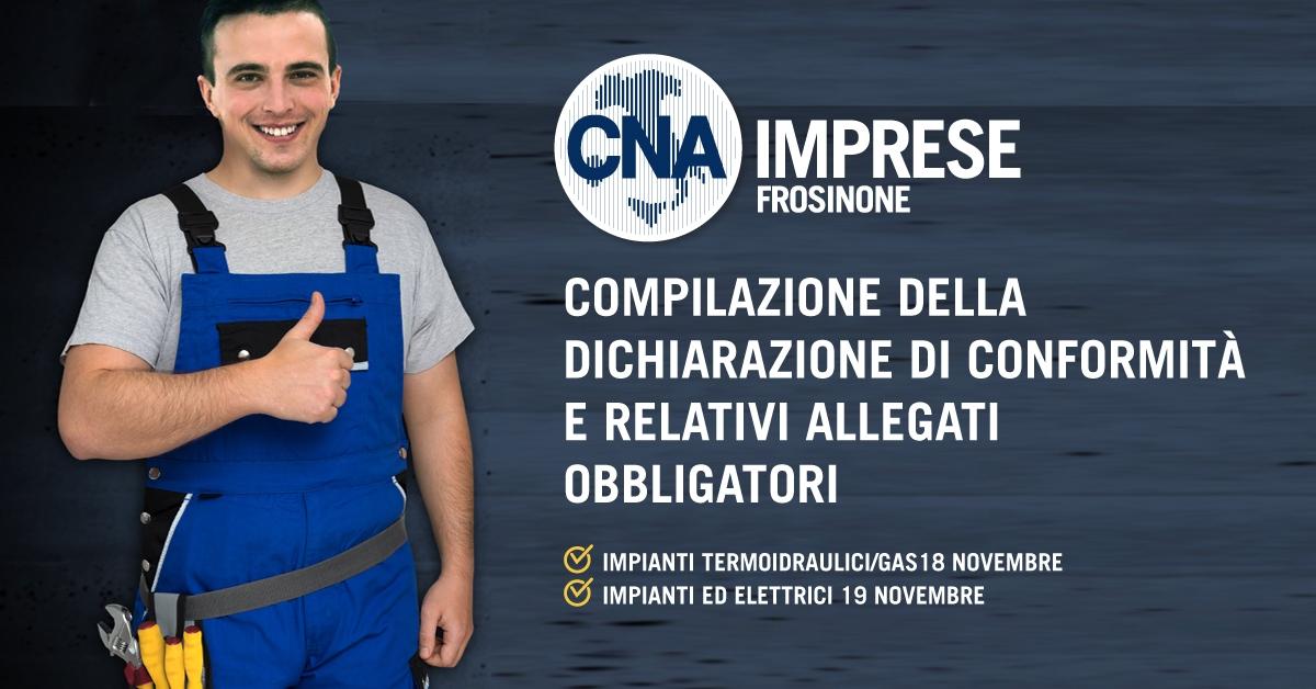 """Featured image for """"Impiantisti. Compilazione della Dichiarazione di Conformità e relativi allegati obbligatori"""""""