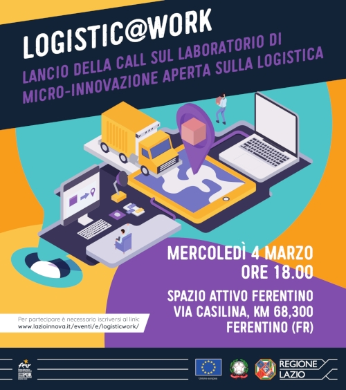 "Featured image for ""Logistic@work, il futuro della Logistica tra innovazione e marketing"""