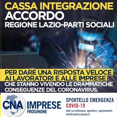 """Featured image for """"CIG in Deroga Regione Lazio. Al via la cassa integrazione anche per i piccoli commercianti con causale COVID-2019"""""""