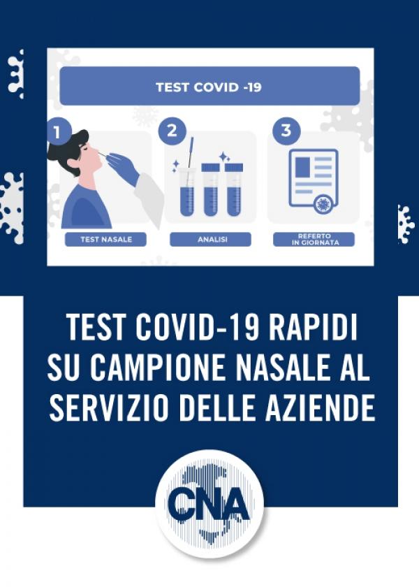 """Featured image for """"COVID19 – Test Rapidi a servizio delle aziende"""""""