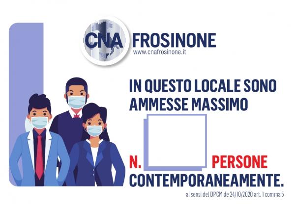 """Featured image for """"Cartello obbligatorio per numero massimo persone ammesse nell'Impresa – SCARICA GRATIS IL MODELLO CNA"""""""