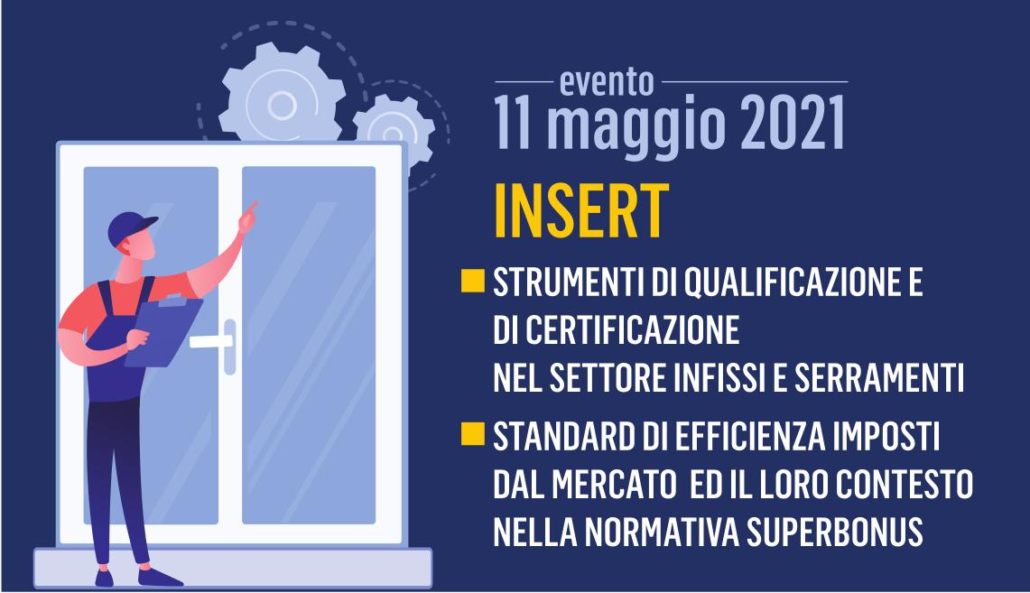 """Featured image for """"INSERT – Evento gratuito per le Imprese del settore Infissi e Serramenti"""""""