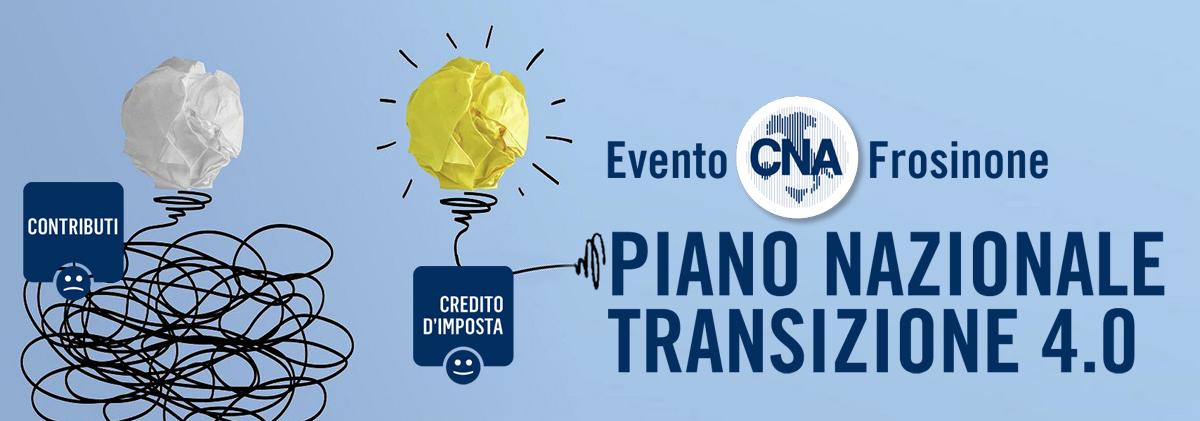 """Featured image for """"Piano Nazionale Transizione 4.0: Evento CNA Frosinone"""""""