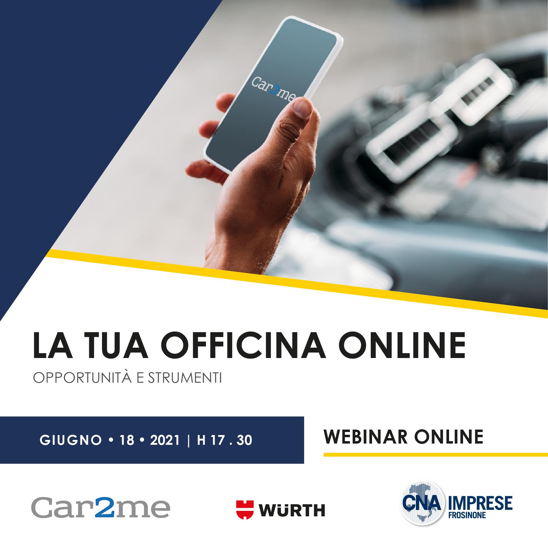 """Featured image for """"La tua Officina on-line: opportunità e strumenti"""""""